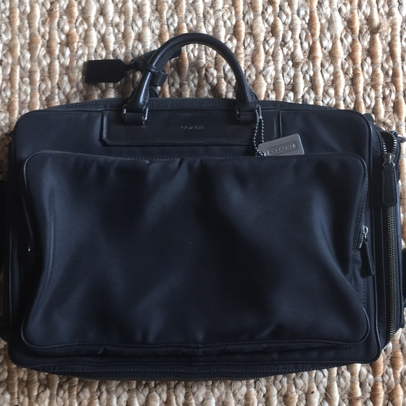 Coach Other - Leather Coach Briefcase